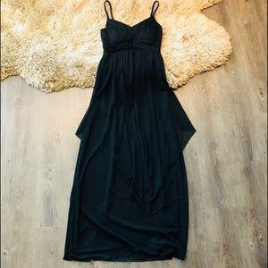 En focus Studio Black long Dress 👗